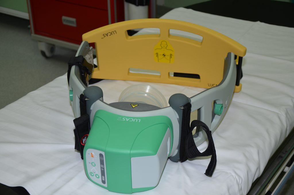 Sprzęt dla Szpitalnego Oddziału Ratunkowego